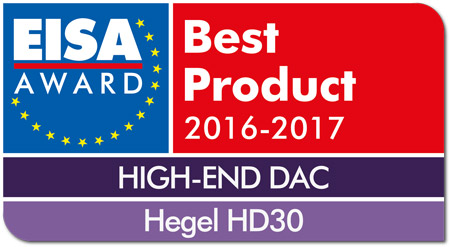 Hegel HD30 EISA Award