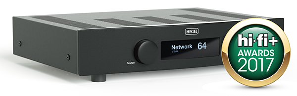Hegel H90 HiFi+ award 2017
