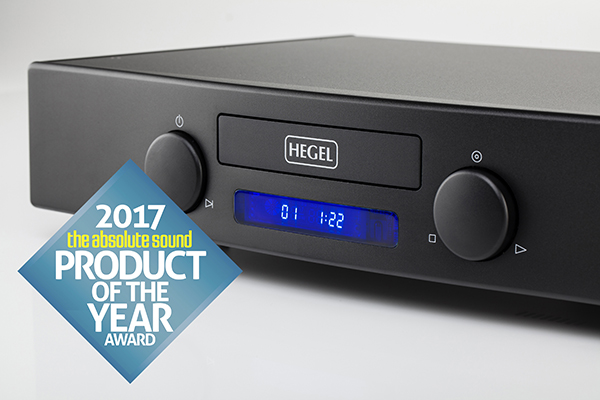 Hegel Mohican Product of the Year 2017 on The Absolute Sound